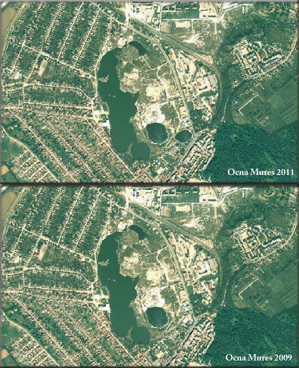 Imagini Din Satelit Cu Orasul Ocna Mures In 2009 Si 2011 Ocna