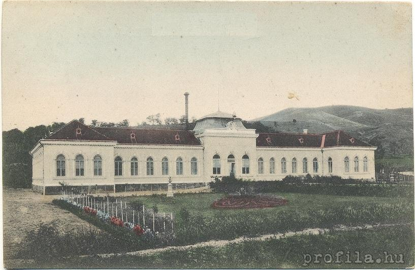 Clădirea Băilor Sărate din Ocna Mureş în anul 1940