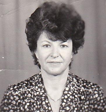 Doamna profesoară Dănilă Maria