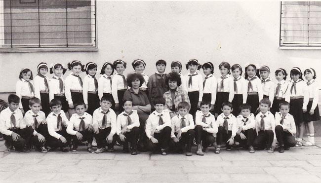 """Cu """"Pionierii"""" clasei a IV-a C 1983-1984"""